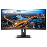 Philips Monitor 346B1C 34'' VA Curved HDMIx2 DPx2 USB-C