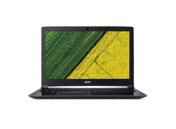 Acer Laptop Aspire A715-72G-71CT REPACK WIN10/i7-8750/8GB/1T+128SSD/GTX1050Ti/15.6 FHD