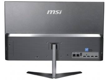MSI Komputer All in One PRO 24X 10M-015EU WIN10/i7-10510U/16GB/512SSD/UMA/WiFi/USB/HDMI/RJ45/Speakers/Silver/23.8
