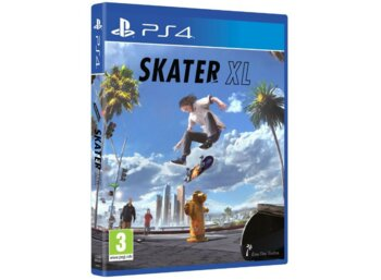 KOCH Gra PS4 Skater XL The Ultimate Skateboarding