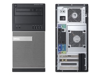 Dell Optiplex 9020MT Win78.1 (64-bit Win8, nosnik) i7-4790/500GB/4GB/DVDRW/HD4600/KB212-B/MS111/3Y NBD