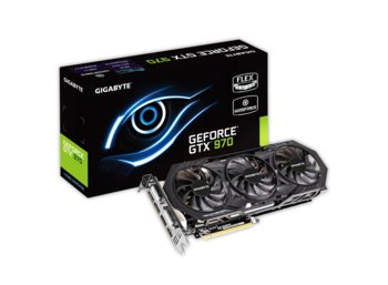 Gigabyte GeForce CUDA GTX970 OC WindForce3 4GB DDR5 PCI-E 256BIT 2DVI/HDMI/3DP BOX