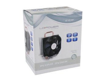 LC-POWER WENTYLATOR CPU LC-CC-97 MULTI-SOCKET 110W 2200RPM