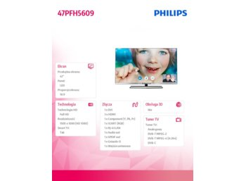 Philips 47'' LED             47PFH5609