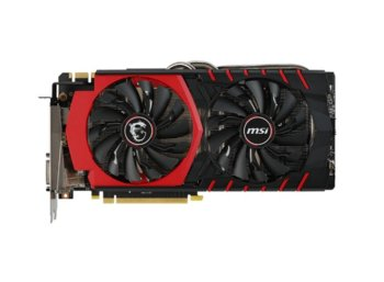 MSI GeForce CUDA GTX 980 GAMING 4G DDR5 256bit DVI-I/HDMI/D