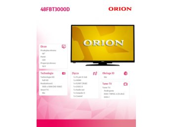 Orion 48'' LED               48LBT3000D