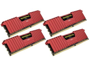 Corsair DDR4 Vengeance LPX 32GB /2400 (4*8GB) RED CL14-16-16-31