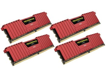 Corsair DDR4 Vengeance LPX 16GB /2400 (4*4GB) RED CL14-16-16-31