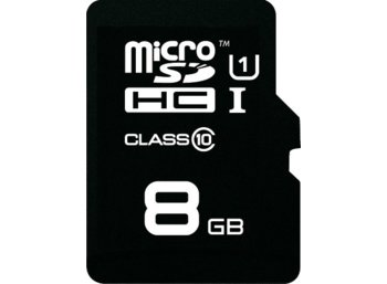 Emtec micro SDHC 8GB Class 10 Gold 30/11 mb/s + adapSD
