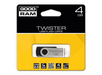 GOODRAM Twister  4GB USB 2.0 Czarny
