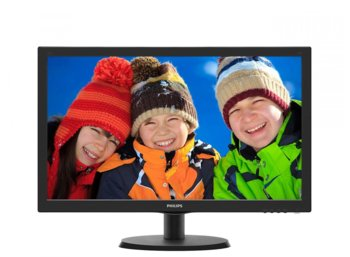 Philips 21.5'' 223V5QSB6 LED AH-IPS DVI Czarny