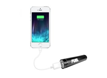 Patriot PowerBank Fuel Active 2000mAh USB latarka 3 funkcje LED aluminium - czarna