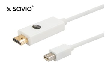 Elmak SAVIO CL-83 Kabel mini DisplayPort - HDMI, 1,8m