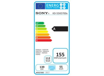 Sony 55'' LED         KD-55XD7005BAEP