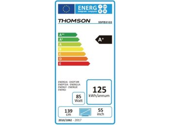 Thomson 55'' LED            55FB3103