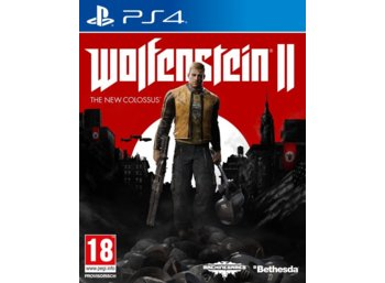 Cenega Gra PS4 WOLFENSTEIN II The New Colossus