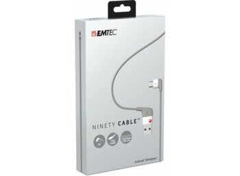 Emtec Kabel USB-micro USB for Android Ninety Cable